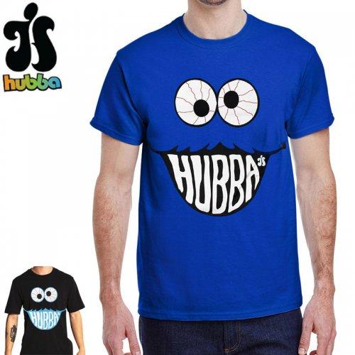 【ハバ HUBBA WHEELS スケボー Tシャツ】MONSTER TEE【ロイヤルブルー】【ブラック】 NO3