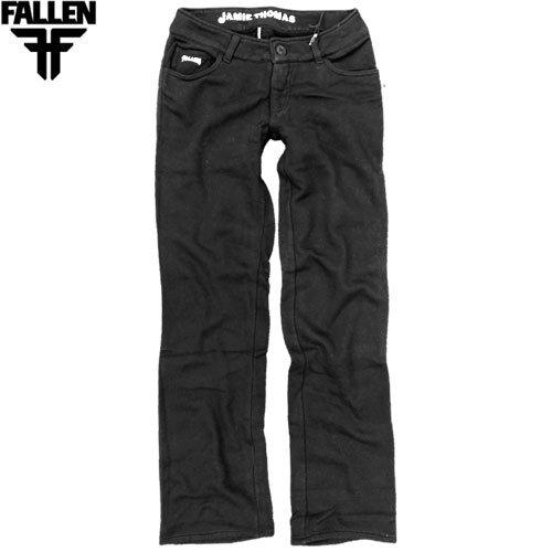 【小さいサイズのみ】【フォールン FALLEN スケボー スウェットパンツ】THOMAS SIGNATURE SWEAT PANTS【ブラック】NO6