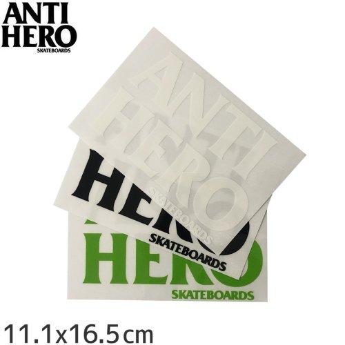 【アンタイヒーロー ANTIHERO スケボー ステッカー】BLACK HERO【3色】【11.1cm x 16.5cm】NO3