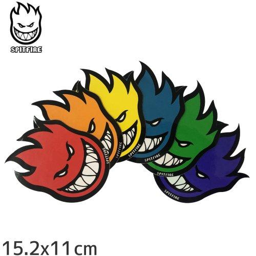 【スピットファイア SPITFIRE スケボー ステッカー】FIREBALL 6色【15.2cm×11cm】NO17