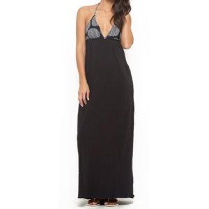 【ロキシー ROXY ワンピース ドレス】Follow The Sun Dress【ブラック】No5