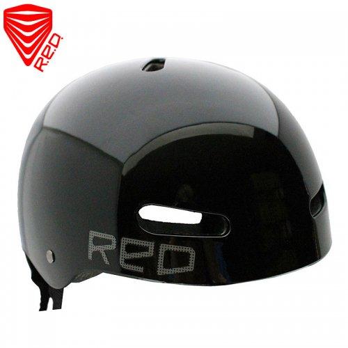 【レッド RED スケートボード用 ヘルメット】RIOT EPS HELMET【ブラック】【Lサイズ】NO7