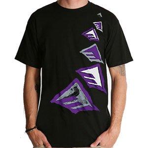 【エメリカ EMERICA スケボー Tシャツ】Flighted Tee【ブラック】NO11
