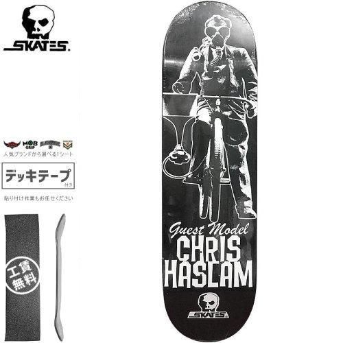 【スカルスケーツ SKULL SKATES スケボーデッキ】CHRIS HASLAM GUEST DECK【8.5インチ】NO7