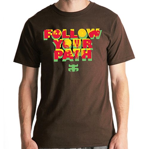 【アイパス I-PATH スケボー Tシャツ】Follow Your【ブラウン】NO16