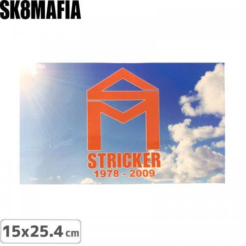 【スケートマフィア SK8MAFIA ステッカー】MAFIA SKATEBOARD【15cm x 25.4cm】NO7