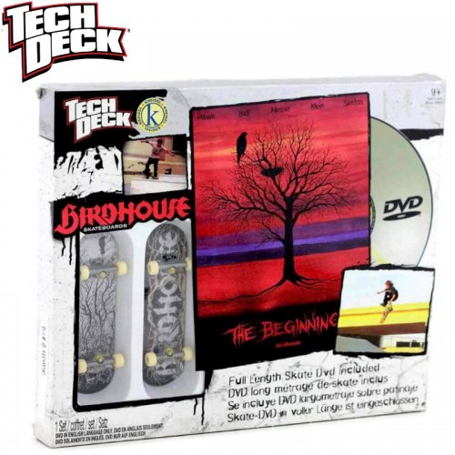 【テックデッキ Tech Deck 指スケ】Sk8 Shop DVD【バードハウス Bird House】NO03