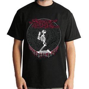 【シンク THINK スケボー Tシャツ】Darkside【ブラック】NO04