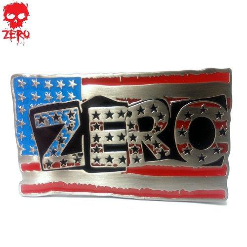【ゼロ ZERO Skateboard スケボー バックル】AMERICAN PUNK BUCKLE【5.4cm x 9cm】NO01