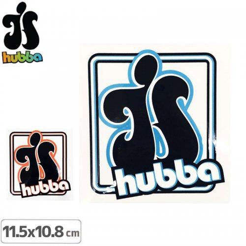 【ハバ HUBBA WHEELS スケボー ステッカー】HUBBA【11.5cmx10.8cm】NO01