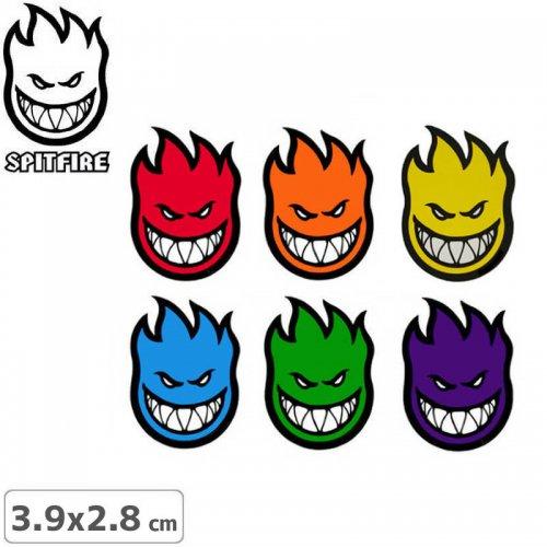 【スピットファイア SPITFIRE スケボー ステッカー】FIREBALL MINI【3.9cm × 2.8cm】NO26