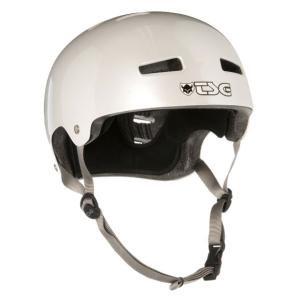 TSG Pearl White Helmet パールホワイト スケート BMX ヘルメットNO9