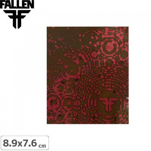 【FALLEN ファーレン ステッカー】PATTERN DESIGN【8.9cm × 7.6cm】NO9
