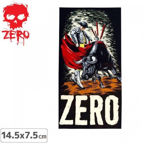 【ゼロ ZERO スケボー ステッカー】BULL FIGHTER【14.5cm x7.5cm】NO50