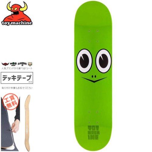 【トイマシーン TOY MACHINE スケートボード デッキ】TURTLE FACE DECK【7.75インチ】NO105
