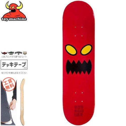 【トイマシーン TOY MACHINE スケートボード デッキ】MONSTER FACE DECK【8.0インチ】NO107
