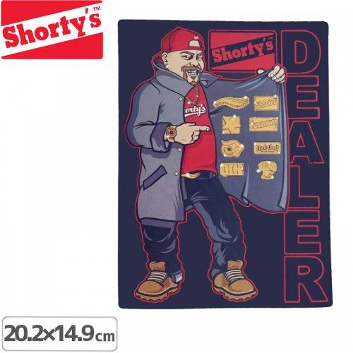 【ショーティーズ SHORTYS ステッカー】DEALER【20.2cmx14.9cm】NO07