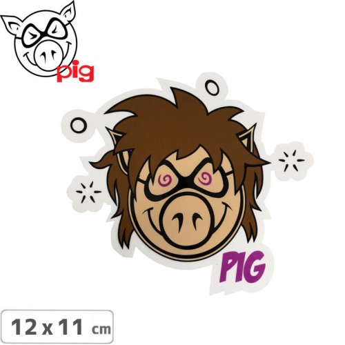 【PIG ピッグ STICKER ステッカー】PIG STICKER【12cmx11cm】NO4