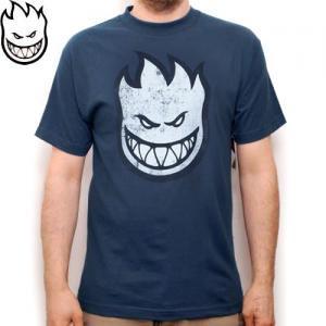 【SPITFIRE スピットファイア スケボー Tシャツ】Decay T-Shirt【ヘザーブルー】NO65