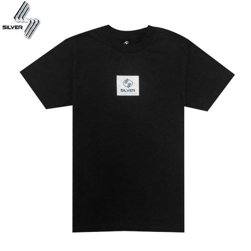 【SILVER シルバートラック Tシャツ】Silver Trucks Tee【ブラック】NO.04