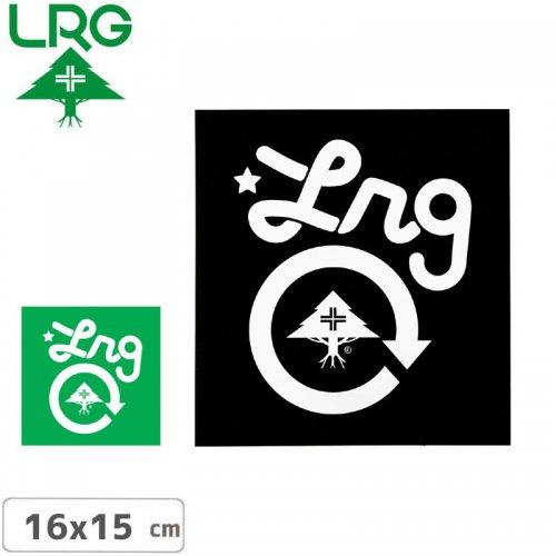 【エルアールジー LRG ステッカー】CORE STICKER【2色】【16cm x 15cm】NO3