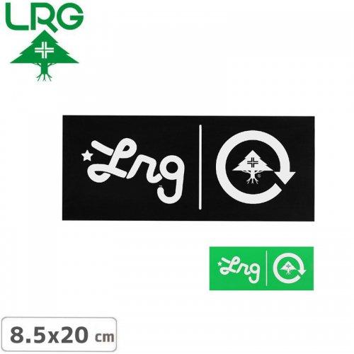 【エルアールジー LRG ステッカー】LOGO BOX STICKER【2色】【8.5cm x 20cm】NO20