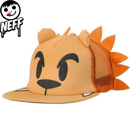 【ネフ NEFF ストリート キャップ】LION SNAPBACK CAP【ライオン】【ブラウン】NO4