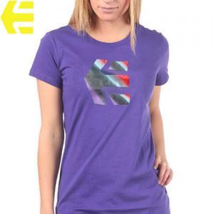 【エトニーズ ETNIES レディース Tシャツ】INSPIRED WOMENS【ディープ パープル】NO14
