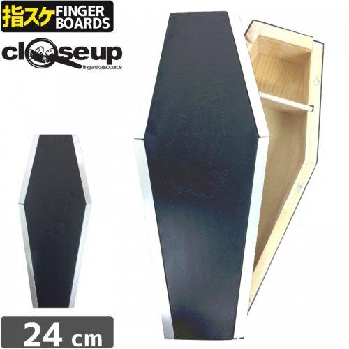 【クローズアップ CLOSE UP フィンガーボード】COFFIN CURB 棺桶型 収納 カーブ ボックス【ブラック】NO4