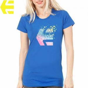【エトニーズ ETNIES レディース Tシャツ】FLY AWAY WOMENS【ロイヤル ブルー】NO15