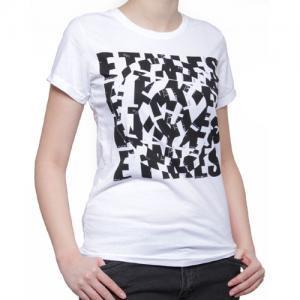 【エトニーズ ETNIES レディース Tシャツ】HYPNOTIC WOMENS【ホワイト】NO18