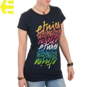 【エトニーズ ETNIES レディース Tシャツ】FADE IN WOMENS【ネイビー】NO22