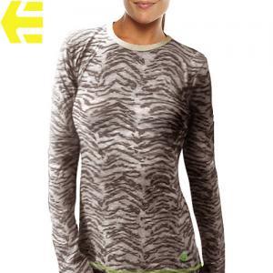 【エトニーズ ETNIES レディース Tシャツ】CAPE TOWN L/S WOMENS【ブラウン】NO28