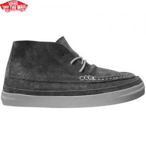 【VANS バンズ スケボー シューズ】MESA MOC CA SUEDE DARK SHADOW【グレー】NO24
