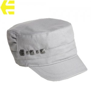 【ETNIES エトニーズ レディース スケボー キャップ】conductor wms custom hat【グレー】NO02