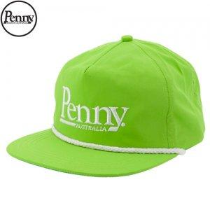 【ペニー PENNY スケボー キャップ】SNAP BACK HAT CAP【ネオン グリーン】NO1