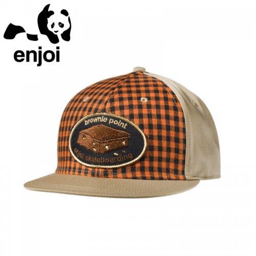 【エンジョイ ENJOI スケボー キャップ】Players Club Scout Cap【ベージュ】NO31