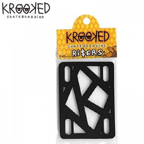 【クルキッド KROOKED ライザーパッド】KROOKED RISER PAD【1/4】NO04