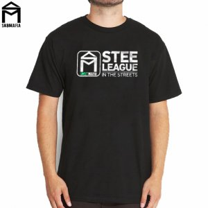 SALE! 【スケートマフィア SK8MAFIA スケボー Tシャツ】SKATEMAFIA Stee Tee【ブラック】NO56