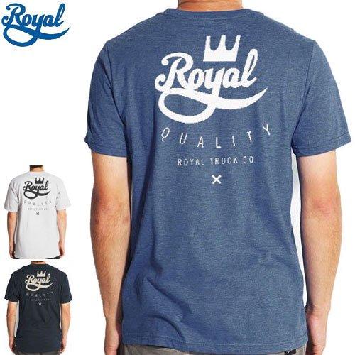 【ロイヤル ROYAL スケボー Tシャツ】CROWN CREST TEE【3カラー】NO35