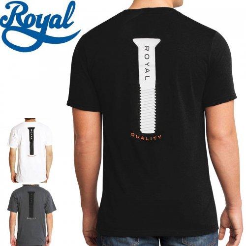 【ロイヤル ROYAL TRUCKS スケボー Tシャツ】PARTS TEE【3カラー】NO43