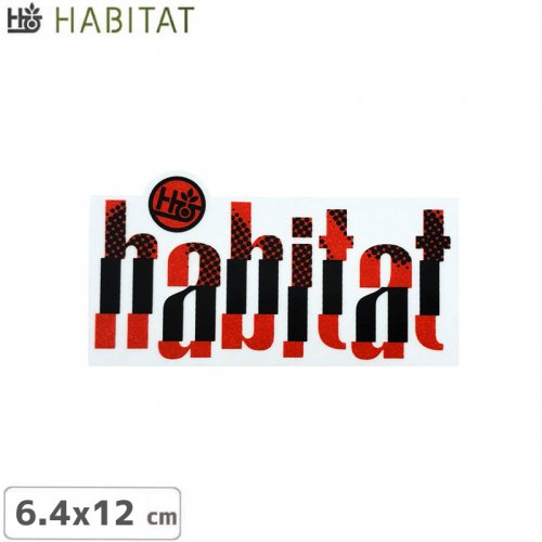 【HABITAT ハビタット ステッカー】GENERATIONS DECAL【6.4cm x 12cm】NO20