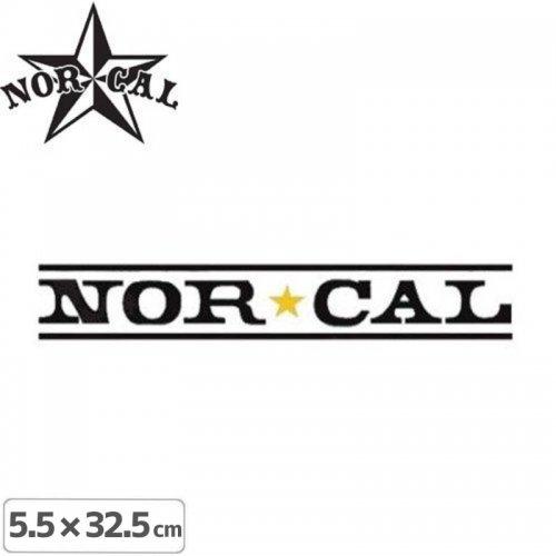 【ノーカル NOR CAL ステッカー】LOGO STICKER【5.5cm x 32.5cm】NO22