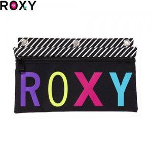【ロキシー ROXY ペンシルケース】ROXY PEN PALS【ブラック x ホワイト】NO44