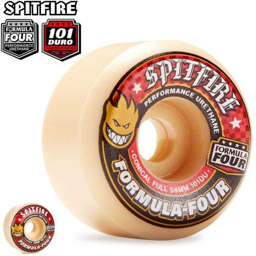 送料無料【SPITFIRE スピットファイア ウィール】FORMULA FOUR 101A【52mm】【53mm】【54mm】【56mm】NO171
