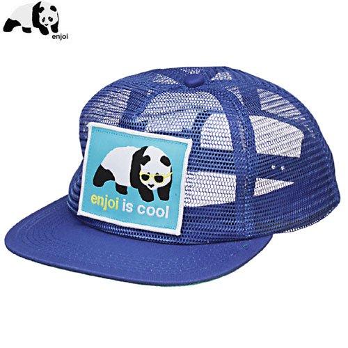 【エンジョイ ENJOI スケボー キャップ】ENJOI THAT COOL MESH HAT【ブルー】NO41