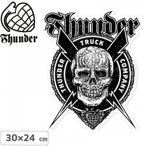 【サンダー トラック THUNDERスケボー ステッカー】 POR VIDA DIE CUT【30cm x 24cm】No35