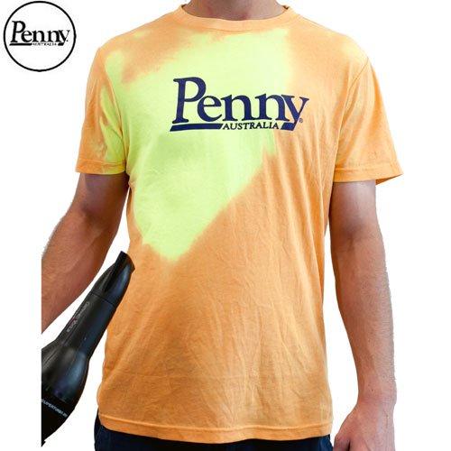 【ペニー PENNY スケボー Tシャツ】HOT SPOT TEE【オレンジ x イエロー】NO2