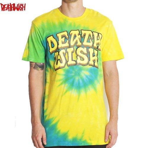 【デスウィッシュ DEATHWISH スケボーTシャツ】GREAT DEATH TIE DYE【タイダイ】NO21