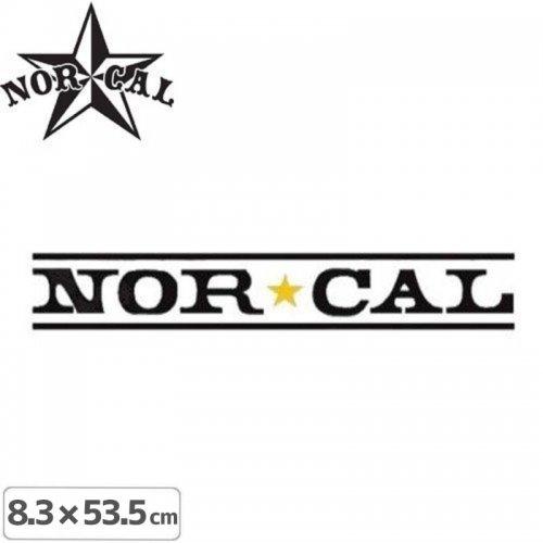 【ノーカル NOR CAL ステッカー】LOGO STICKER【8.3cm x 53.5cm】NO23